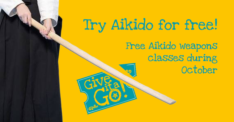 aikido give it a go sessions 2020